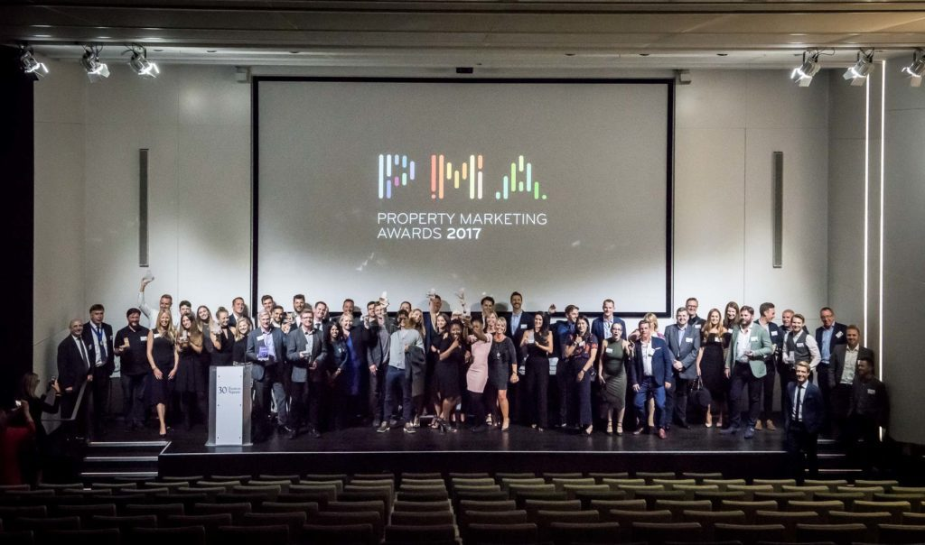 Winners of the Property Marketing Awards 2018
